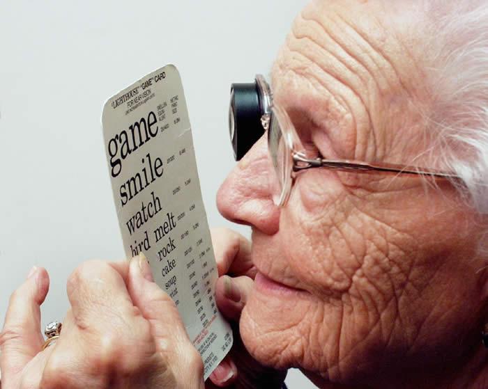 ¿Qué enfermedades visuales son más comunes en la tercera edad?
