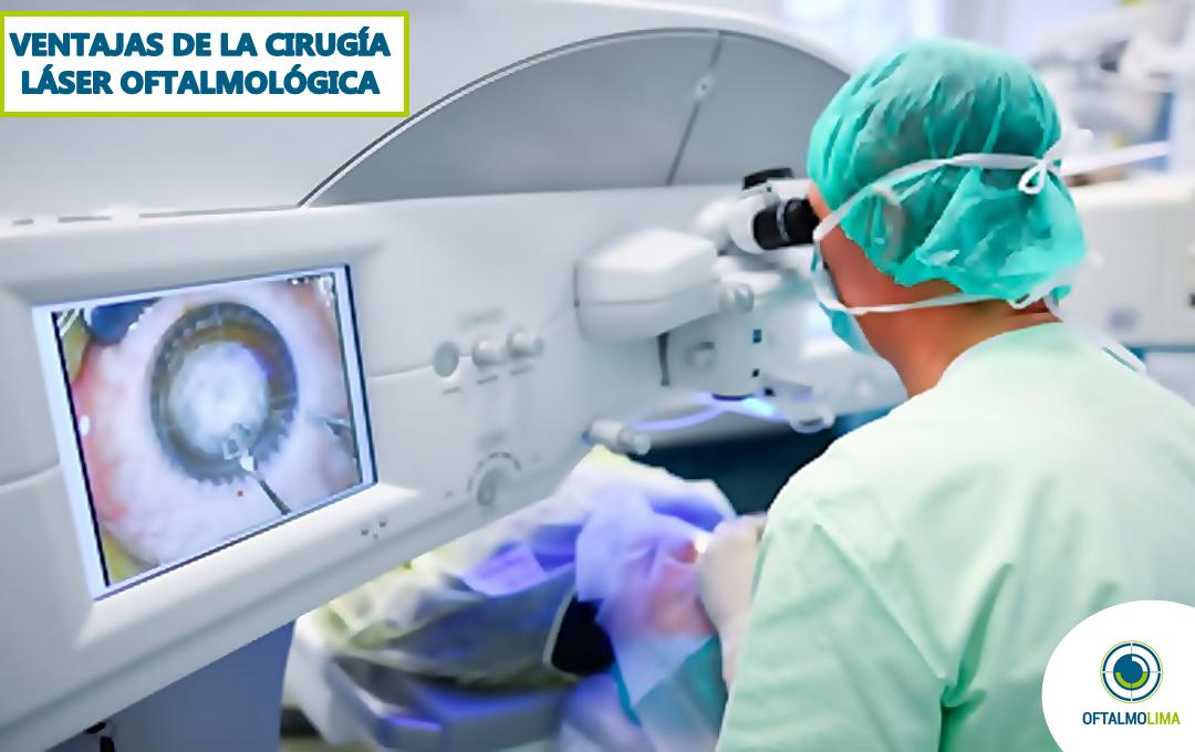 Ventajas que ofrece la cirugía láser oftalmológica