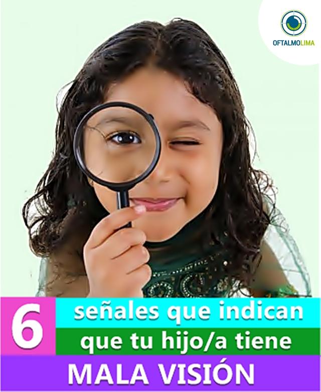 6 señales que indican que tu hijo/a tiene mala visión
