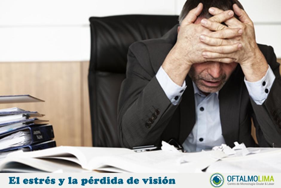 El estrés y la pérdida de la visión