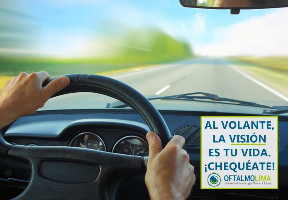 Tu visión al volante es tu vida