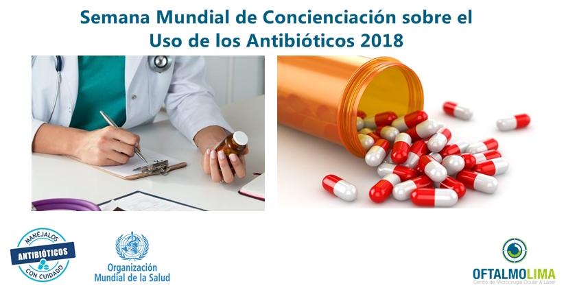 Día Mundial de Reflexión sobre el Uso de Antibióticos 2018