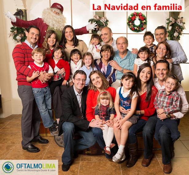 La Navidad con los seres queridos