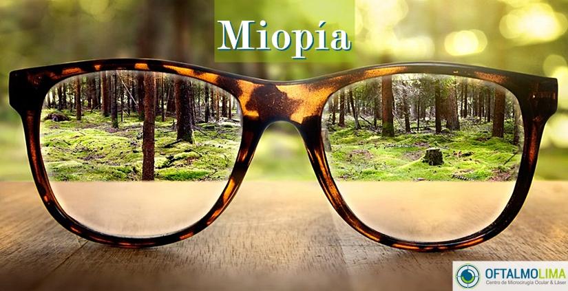 Miopía: síntomas, causas, riesgos y tratamiento