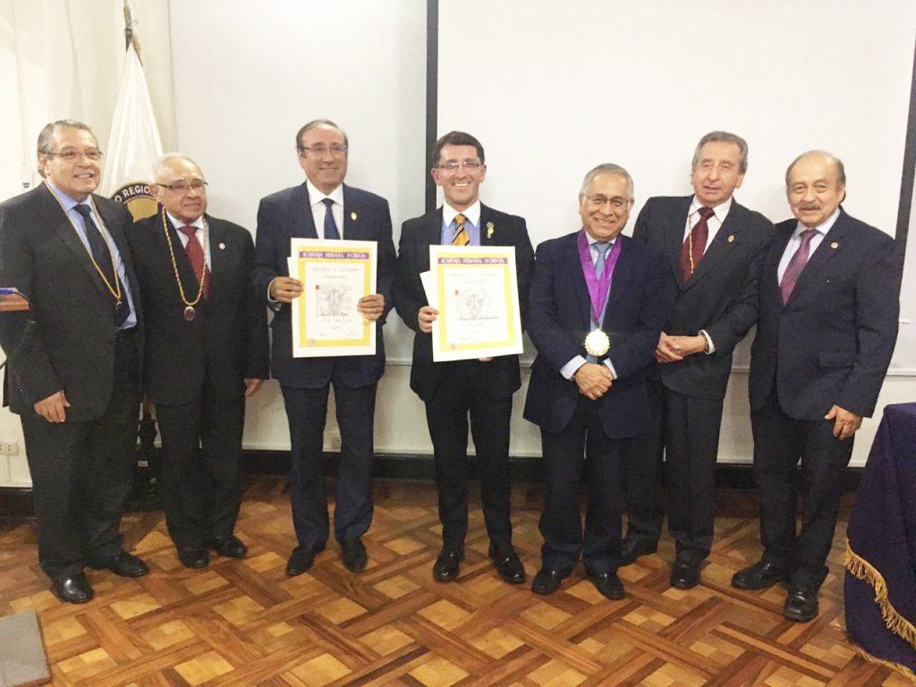 Ceremonia de Incorporación de Médicos Cirujanos Peruanos a la Academia Peruana de Cirugía