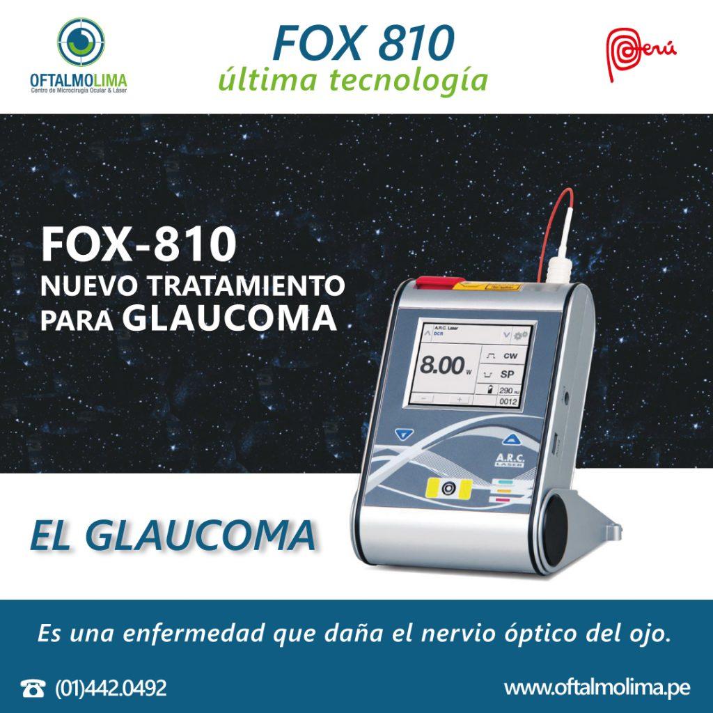 FOX 810 ÚLTIMA TECNOLOGÍA
