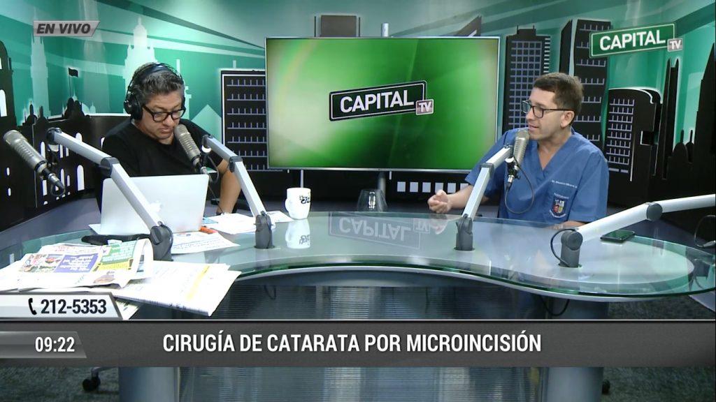 CIRUGIA DE CATARATAS POR MICROINCISIÓN PEQUEÑA Y ULTRASONIDO.