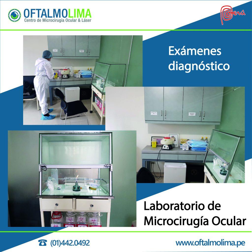 REINICIO DE EXÁMENES DIAGNÓSTICOS EN NUESTRO LABORATORIO DE MICROBIOLOGÍA OCULAR