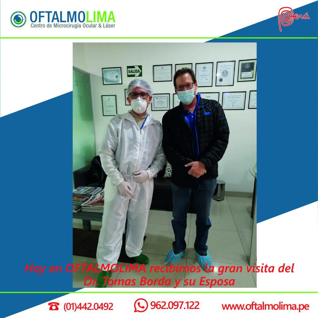 El Dr. Mauricio Miranda y el Dr. Tomas Borda